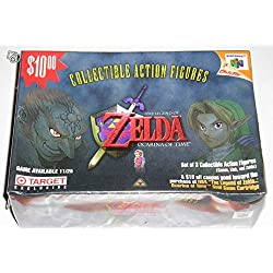 """Coffret Zelda Ocarina of Time N64 Collectible Action Figures """"Limited Edition"""" - Nintendo USA (1998)"""