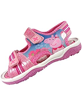 PeppaPig Beadnall - Sandalias de vestir de Material Sintético para niña rosa rosa