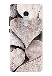 Noise Designer Printed Case / Cover for Xiaomi Redmi Note 4 / Patterns & Ethnic / Heart Design