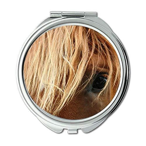 Yanteng Spiegel, Make-upspiegel, Tierzucht nah Oben, Taschenspiegel, beweglicher Spiegel