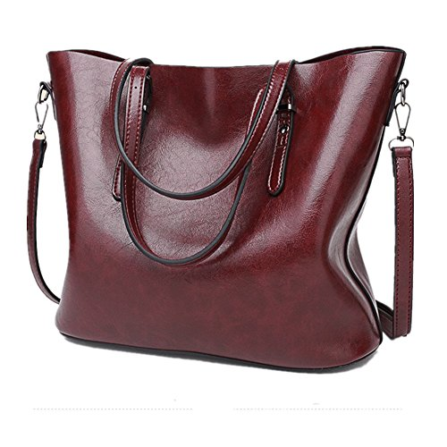 JLCorp , Damen Tote-Tasche rot (Sale Hobo Purse)