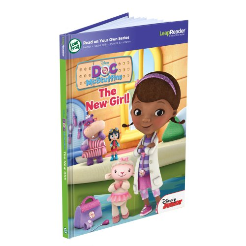 LeapFrog LeapReader Book: Read On Your Own, Disney Doc McStuffins: The New Girl