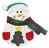 Küche Besteck Anzug - Besteck Taschen Taschen Messer Gabeln Tasche Schneemann, Weihnachtsmann, Elch Form Weihnachten Weihnachtsdekoration,Schneemann