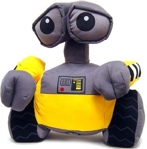 Image of Disney Pixar Wall-E Movie Exclusive Deluxe 12 Inch Plush Figure Wall-e (Head Turns!) by Disney