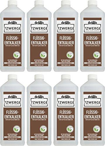 Entkalker für Kaffeevollautomaten 8 x 1000 ml I Kaffeemaschine I Kaffeepadmaschine I Wasserkocher I...