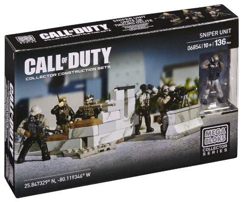 Mattel Mega Bloks - Call of Duty Equipo Francotiradores