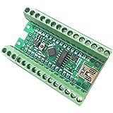 WINGONEER ATmega328P Nano 3.0 CH340 controlador USB + Adaptador de Terminal tarjeta de expansión 2 en 1 tablero Compatible con Arduino