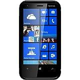 Amzer TPU Hybrid Case Cover for Nokia Lumia 620 - Solid Black