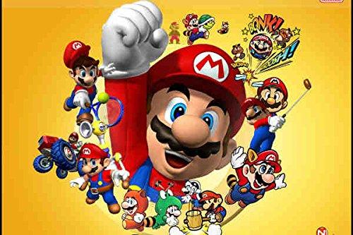 Super Mario - Peluche Mario Bros 60cm Calidad super soft 4