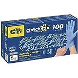 Magneti Marelli 98136 Guantes Profesionales Desechables de Nitrilo, Tamaño L, Juego de 100