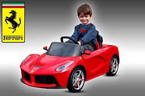 Lizenz Kinder Elektro Auto Ferrari LaFerrari 2x 25W 12V