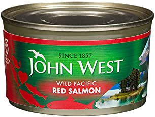 John West Wild Pacific Red Salmon, 213g