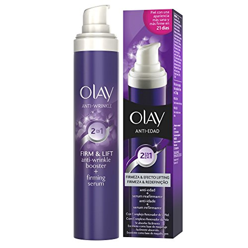 Olay 2 en 1 Crema facial Anti-edad + Sérum reafirmante Firmeza & Efecto Lifting 50 ml