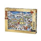Nathan- Puzzle La féérie de Noël 1000 pièces, 87567