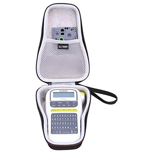 LTGEM EVA Hülle für Brother PT-H110 Etikettendrucker | Handheld | QWERTY Tastatur