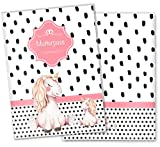 Mutterpasshülle 3-teilig Creative Royal Schutzhülle schöne Geschenkidee (Mutterpasshülle ohne Personalisierung, Einhorn)