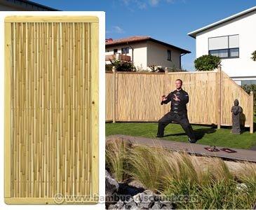 """Bambus Sichtschutz """"Phuket Bambu"""" 179x89cm, Premium - Sichtschutz, Sichtschutz Elemente, Sichtschutzwand, Windschutz"""