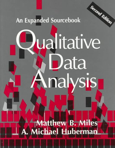 Qualitative Data Analysis: An Expanded Sourcebook
