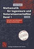 Mathematik für Ingenieure und Naturwissenschaftler Band 1. Ein Lehr- und Arbeitsbuch für das Grundstudium (Viewegs Fachbücher der Technik) - Lothar Papula