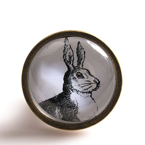 beautiful-vintage-painted-glass-door-knobs-woodland-hare