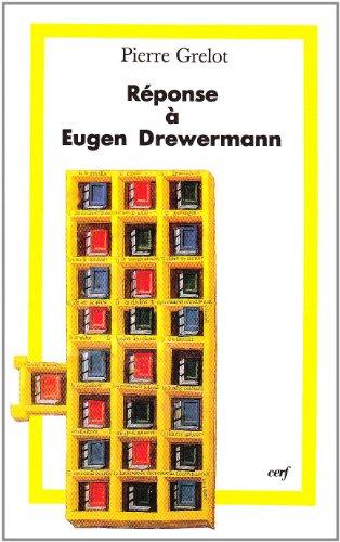 Rponse  Eugen Drewermann