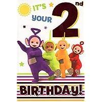 Teletubbies Age 2 Birthday Card