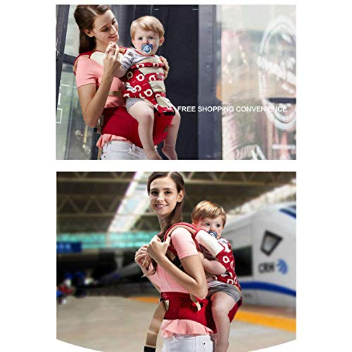 Udxvsdfhd Baby Carrier Baby Carrier Ergonomic Backpack Breathable Hold baby Waist stool baby strap high density EPS Material meets the Ergonomics. Back Carrier  udxvsdfhd