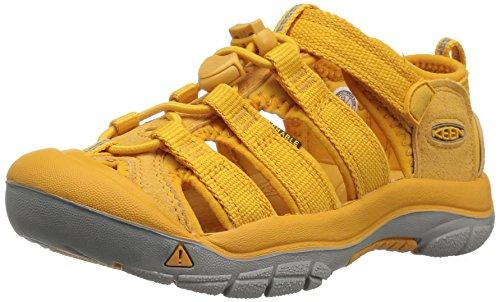Keen Unisex-Kinder Newport H2 Sandalen Trekking-& Wanderschuhe, Gelb (Beeswax Beeswax), 27/28 EU (Keen Schuhe Gelb)