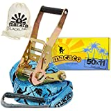 Macaco Travel Slackline - 11m Long (50mm Wide)
