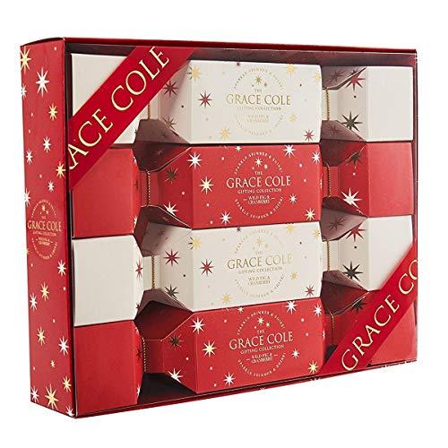 Grace Cole WFC1772005 Coffret Cadeaux pour Bain 4 Pièces