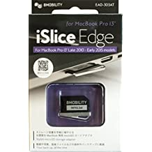 "8Mobility iSlice borde de aluminio MicroSD adaptador de almacenamiento para MacBook Pro Retina de 13""(Late 2012A principios de 2015), color plateado"