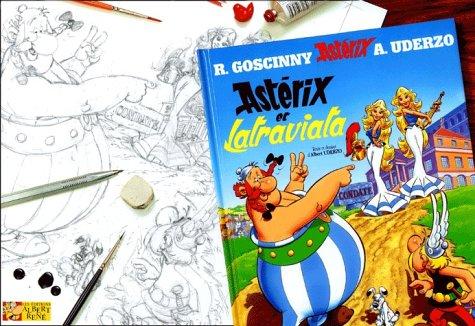 Astérix, tome 31 : Astérix et Latraviata, version luxe (crayonnés)