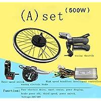 GZFTM Kit de Bicicleta eléctrica 500W36V / 48V Kit de Bicicleta eléctrica modificada Accesorios de Bicicleta