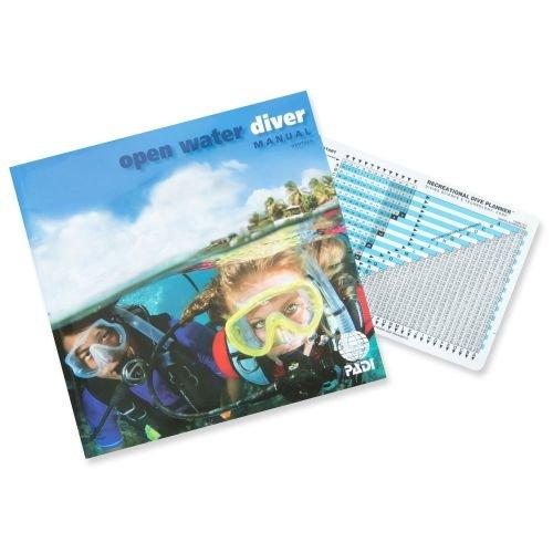 Padi Open Water Diver Manual deutsch inkl. Tabelle