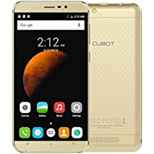"CUBOT Dinosaur - Smartphone 4G LTE Android 6.0 (Quad-Core, 5.5"" Pantalla 1280*720 HD, 64Bit MT6735A, 1.3GHz 3GB+16GB, Cámara 13.0MP 4150mAh Batería, Dual SIM)"