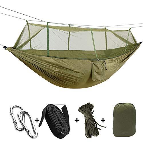 WESYY Hängematte, Outdoor Camping, ultraleichte Reisehängematte aus 260 * 130CM