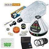 Premium volcán vaporizador (Kit de válvula, escala, molinillo, macizo W caja