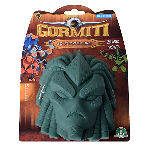 Te - Trend Gormiti 3D Puzzle Lord 13-teilige Snap-Together Figure Toy 9 cm Cartoon 2 Gr�n