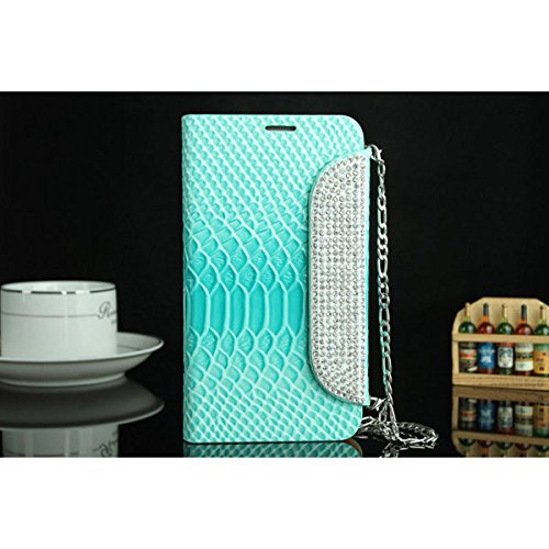 Calli Diamond Luxury - Custodia in pelle per Samsung Galaxy Note2 N7100