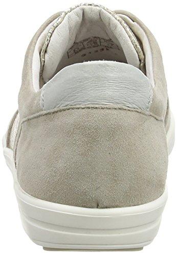 Josef Seibel Dany 47 Damen Sneakers Beige (leinen/silber)