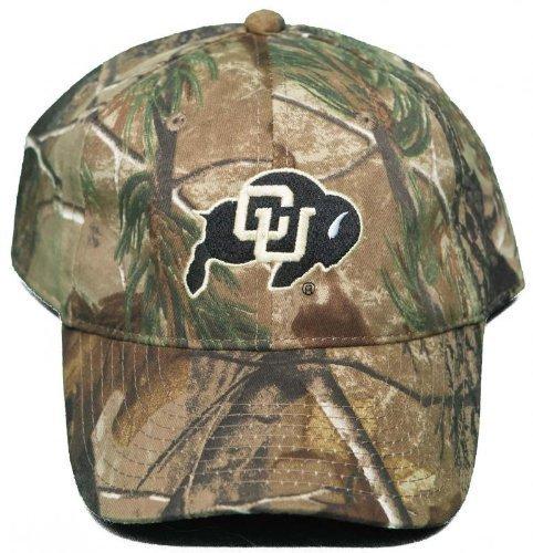 NEU. Universität Colorado Buffaloes Schnalle Rücken hat gesticktes mothwing Camo Cap von mothwing Camo (Buffalo Schnalle)