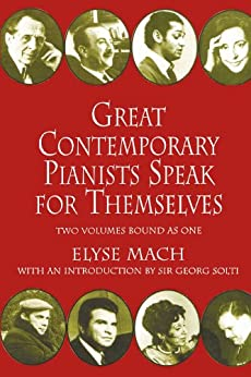 Great Contemporary Pianists Speak for Themselves par [Mach, Elyse]