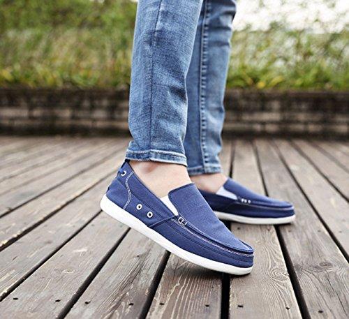 Chaussures De Sport Pour Hommes Chaussures De Toile Blue