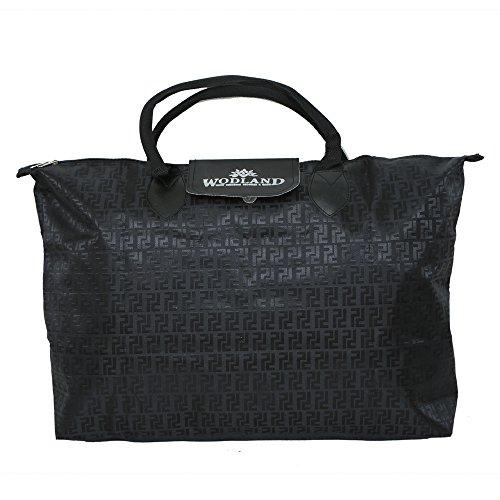 Kuber Industries Waterproof Foldable Shopping Handbag, Travel Bag