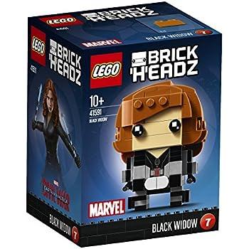 LEGO 41591 - Brickheadz, Black Widow