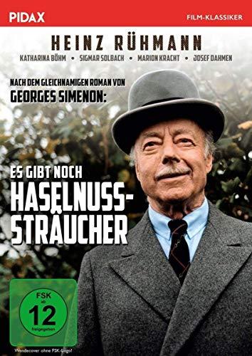 Es gibt noch Haselnußsträucher / Heinz Rühmanns letzte Hauptrolle nach einem Roman von MAIGRET-Autor Georges Simenon (Pidax Film-Klassiker)