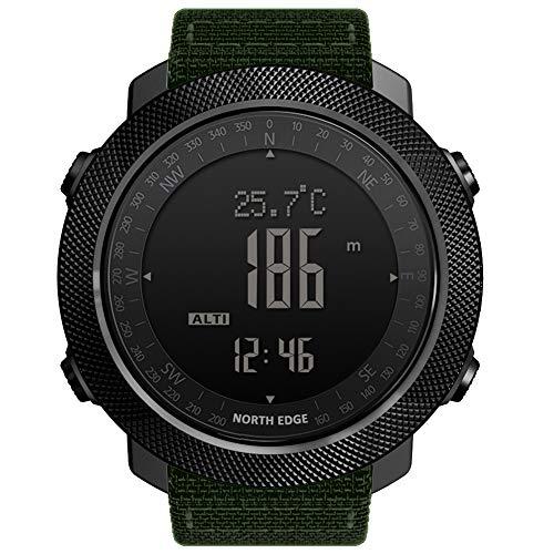 OOLIFENG Fitness Tracker Termómetro Altímetro Barómetro