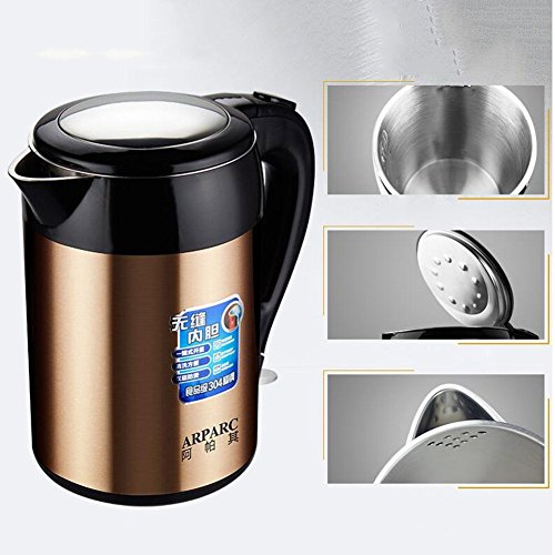 BCQ Electric Kettle Insulation Anti-Hot Automatic Power off Chassis Heating 1.8L 1500W Electric Kettles,1
