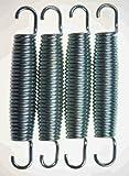 4x Hudora Ersatz Trampolin Federn ca. 138mm von ca. 240 244 305 366 bis 426cm ∅ Ersatzfeder