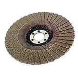 Homyl Grit Flap Dischi Abrasivi Smerigliatrice Granito Ruote Lamiera Disco Lembo - 115mm 60Grit